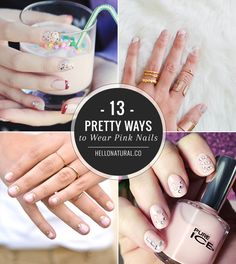 13 Pretty Ways to Wear Pink Nails | HelloNatural.co