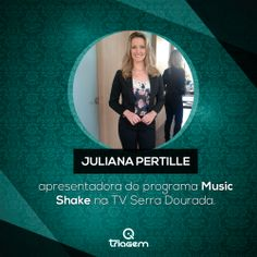 Juliana Pertille no Music Shake.
