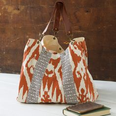 All Gifts - Boho Chic Hobo Bag, Persimmon