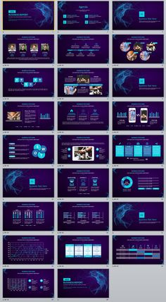 26+ Blue business data charts PowerPoint template on Behance #powerpoint #templates #presentation #animation #backgrounds #pptwork.com #annual #report #business #company #design #creative #slide #infographic #chart #themes #ppt #pptx #slideshow