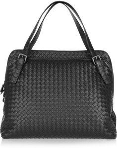 Bottega Veneta Intrecciato leather shoulder bag - ShopStyle d092118321621
