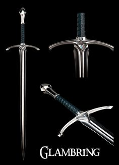 ~ Sword Of Glamdring ~ Turgon  ~  Lord Of The Rings ~ Fellowship ~ Weapon ~ Gandalf ~ Middle Earth ~ Blade