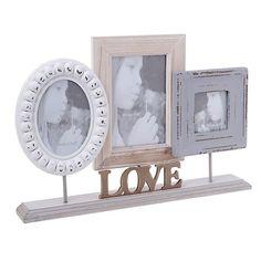 Multiple Photo Frame - Frames Wood-Leather - FRAMES-ALBUMS
