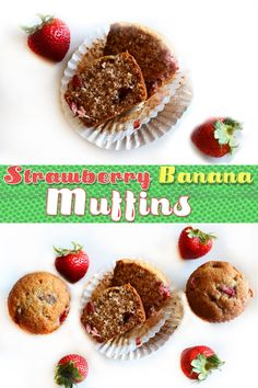 Jump to Recipe Print RecipeTender, golden muffins bursting with banana flavor and bits of strawberry – the perfect spring or summer breakfast, snack or whenever kind of muffin! You guys, we have GOT to talk about these muffins. Mostly we should address the fact that all spring and summer long I have had perfectly juicy...Read More »