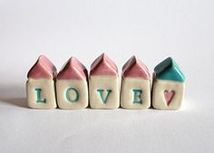 clay houses with love