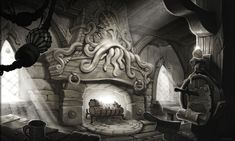 Kul Tiran Tavern Art from World of Warcraft: Battle for Azeroth #art #artwork #videogames #gameart #conceptart #illustration #worldofwarcraft #battleforazeroth #wow #environmentdesign World Of Warcraft, Warcraft Film, Environment Concept Art, Environment Design, Forest Creatures, Environmental Art, Pen And Paper, Art Google, Art World
