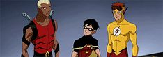 Season 1 Episode 1 Independence Day: Aqualad/Kaldur, Robin/Dick Grayson, & Kid Flash/Wally West: Before…
