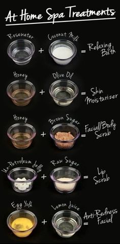 At Home Spa Treatments - Click image to find more health posts