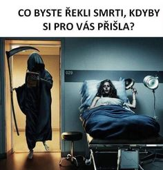 Grim Reaper by Sven Prim Don't Fear The Reaper, Grim Reaper, Jokes Photos, Funny Photos, Jokes Images, Funny Jokes, Hilarious, Funny Ads, Computer Humor
