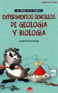 Experimentos de geología y biología