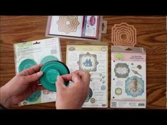 Video on unique Stamps that Match Spellbinders Dies including justrite,heartfelt creations, and stamping scrapping designs.