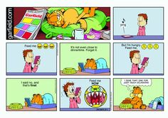 Garfield & Friends | The Garfield Daily Comic Strip for October 04th, 2015