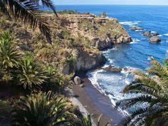 Playa de Castro. Los Realejos. Tenerife.
