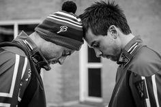 Brødrene Northug var konkurrenter under langrennssprinten, men i forkant hjalp de hverandre med å få riktig fokus. (Foto: MARTIN SLOTTEMO LYNGSTAD )