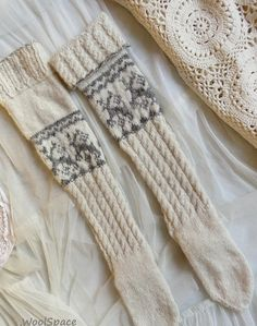 ac9bb71ba08 9 Desirable Embroidered socks   leg warmers images