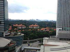 Aloft hotel view