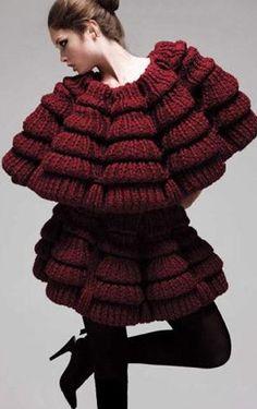 sandrasofyan:    Sandra Backlund knitwear