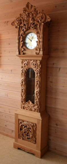 Beautiful example of Norwegian woodcarving