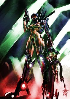 """atomcyber: """"F-Eros. Some sketchy wtf and nsfw hot cyborg girls… """""""