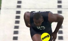 A Football Player's Dick Flew Out Of His Shorts During The Combine Sports Channel, Football Players, Sports News, Sports And Politics, Nfl, Running, Shorts, Buzzfeed News, Marketing