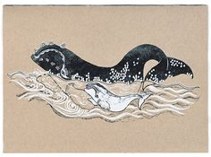 Britt's Right Whale and Her Calf featured in the LA Times - Sneak peek of Echo Park Craft Fair. Save The Whales, Echo Park, Silk Screen Printing, Craft Fairs, Letterpress, Dolphins, Habitats, Printmaking