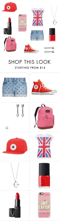 """Adriana Sartorius's first day of school"" by erin091203 on Polyvore featuring STELLA McCARTNEY, Converse, SOPHIE by SOPHIE, JanSport, NARS Cosmetics, Casetify, women's clothing, women, female and woman"