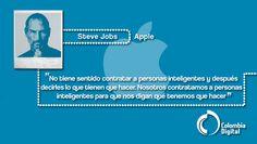 Steve Jobs protagoniza nuestra frase TIC
