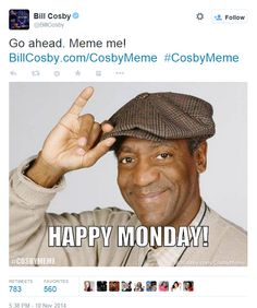 Cosby yanks meme scheme after it backfires spectacularly | New York Post