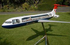 British Airways Super VC-10 Large Scale Cutaway Model