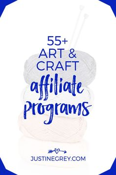 55 Art Affiliate Programs For Crafty And Creative Business Ideas For Beginners, New Business Ideas, Business Tips, Online Business, Marketing Guru, Affiliate Marketing, Marketing Goals, Marketing Ideas, Digital Marketing