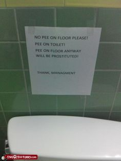 Seems a little harsh for peeing on the floor