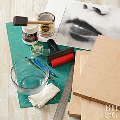 Preserve family photos on wood or canvas with this simple DIY technique.