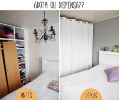 Adota ou dispensa: Cadê as portas do armário?