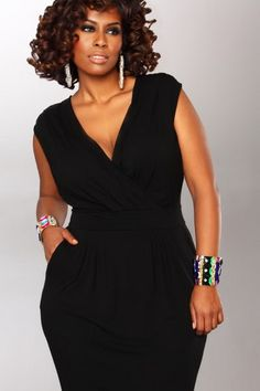 the perfect little black dress the plus size rumor ruched dress