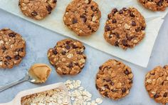 This gluten-free chocolate chip cookie is packed with protein and healthy enough for breakfast!