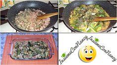 Pasticcio di zucchine con uova e pancetta