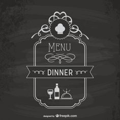 In a coffeehouse and restaurant, a menu is a display or representation of food items and drink choices. Apart from restaurant interior design; Restaurant Menu Template, Logo Restaurant, Free Poster, Weekly Menu Template, Menu Templates, Menu Boards, Doodle Icon, Types Of Lettering, Chalk Lettering