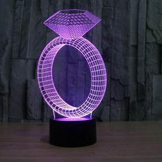 Ring - Lampeez.The Ring 3D LED Illusion Lamp is a combination of art and technology that creates an optical 3D illusion and plays tricks on the eyes.