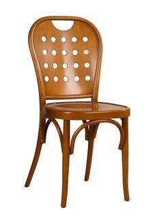 Bentwood Café Chair (Chamois) - Gilt Home