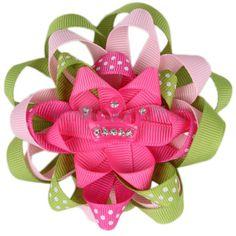 girls hair, wholesale bows, hair clips, hair accessories for girls, wholesale girls! Hair Bows : Tiara Crown Hair Bow $1.09