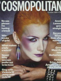 Annie Lennox for Cosmopolitan UK October 1984