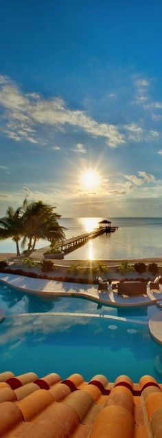 The 15 Most Beautiful and Breathtaking Places in the World - Belizean Cove Estates in Ambergris Caye, Belize