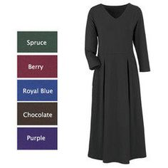 The Easy Dress Easy Dress, Simple Dresses, Dresses For Work, Blue Chocolate, Long Sleeve, Jackets, Clothes, Fashion, Simple Gowns