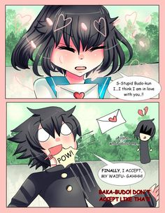 A Love Confession From Ayano by Sonikkufreak.deviantart.com on @DeviantArt