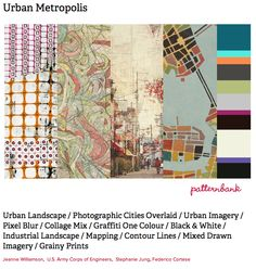 Urban Metropolis, print forecast by Patternbank, http://patternbank.com/premiere-vision-indigo-autumn-winter-2013-14-trend-report-preview/