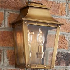 Check out Traditional Studded Tapered Outdoor Wall Lantern- Small from Shades of Light