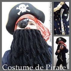 Déguisement de Pirate Tutos DIY