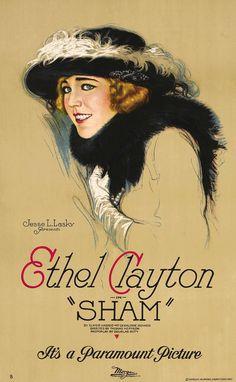 Sham (1921), a lost film. ~ Bizarre Los Angeles