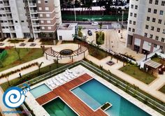 O condomínio possui infra-estrutura e #lazer completos! Com #brinquedoteca, espaço #gourmet, 3 salões de festa (#adulto, #juvenil e #infantil), #lanhouse, #fitness e muito mais!