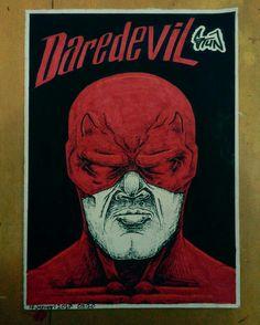 Daredevil  #drawing #mattmurdock #daredevil